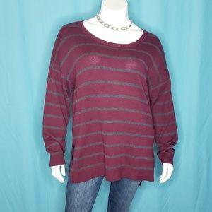 5/$20 Oversized Knit Crewneck  Sweater Size 1X
